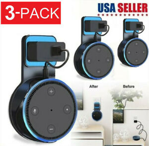 3-Pack-Echo-Dot-Wall-Mount-Stand-Holder-Stand-For-Amazon-Alexa-Echo-Dot-2-USA