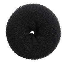 11CM Super Large Hair Donut Bun Ring French Rolls Black Brown Beige New