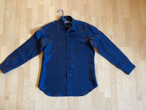 Mens EUC Brioni Linen Blend Shirt Size Large