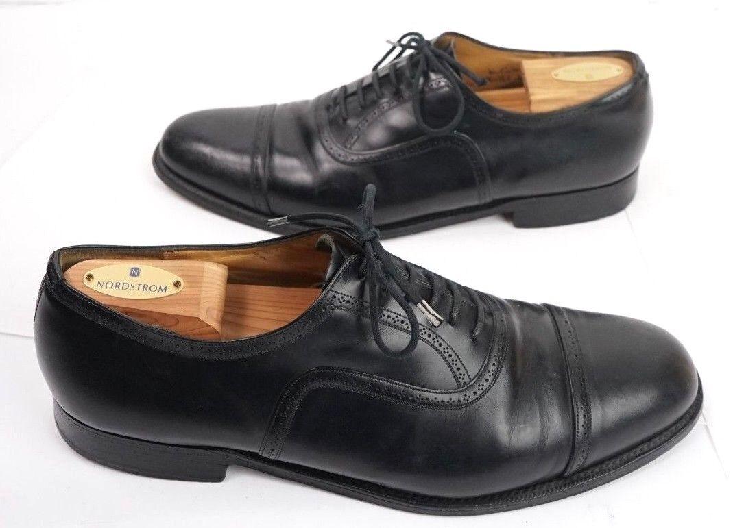 molte sorprese CHURCH'S Dress scarpe Uomo  10 D Custom Grade Chanmouth Chanmouth Chanmouth nero Cap Toe Oxford  consegna rapida