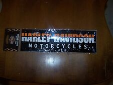 Vintage HARLEY DAVIDSON Window Bumper Sticker Decal USA