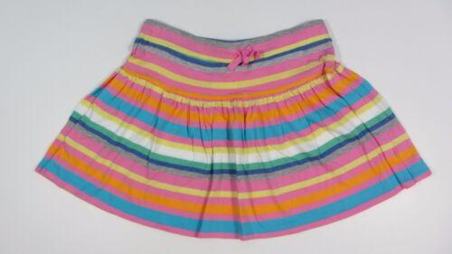 NEW TAMMY SKIRT FLIPPY SHORT  Pink multi striped 14-15 y cotton jersey STRETCH