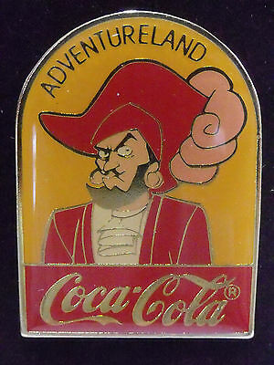 Disney Pin ~ Adventureland ~15th Anniversary~WDW~1986~Coca Cola~Coke