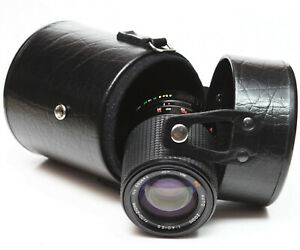 Vivitar-Hard-Lens-Case-6-034-For-Canon-Nikon-Olympus-Minolta-Telephoto-Zoom-Lenses