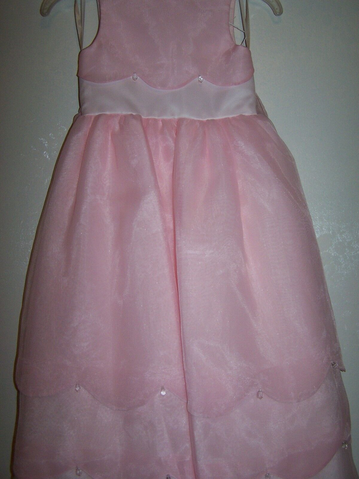 Girls CHERI Pink Special Occasion Party Wedding Pageant Dance Dress Size 4