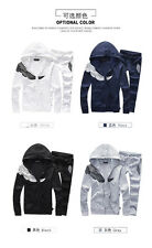 Spring & Summer sweat suits with hoodie for women & mens sportswear BLUE