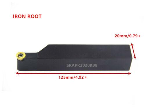 1P SRAPR2020K08 CNC lathe round face milling cutter for RPMT08 insert