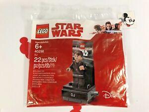 LEGO® #40298 Star Wars DJ Mini Figure Poly Bag Set Brand New!