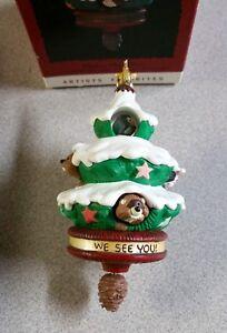 Peek-a-Boo-Tree-Hallmark-Keepsake-Ornament-1993-Features-Movement