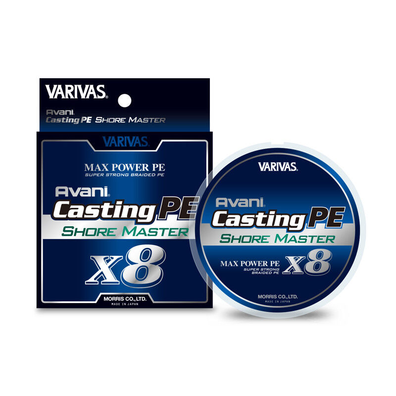 VARIVAS Avani Casting  PE Max Power X8 SHORE MASTER 200m 8Braid Line  hottest new styles