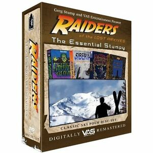 The-Essential-Stumpy-4-DVD-Set-Raiders-of-the-Lost-Archives-Ski-Movie-NEW