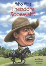 Who Was?: Who Was Theodore Roosevelt? by Michael Burgan and Who HQ (2014, Paperback)