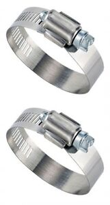 Hose-Clamps-SAE-Size-28-1-1-4-034-2-1-4-034-Round-Qty-2-Parts-Master-50028