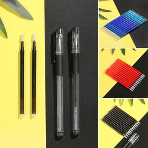 2pcs-Black-Blue-Red-Ink-0-5mm-0-7mm-Erasable-Gel-Pen-Refills-Students-Supplies