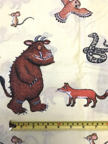 """Gruffalo remanente de tela 31/""""//79cm X 23/""""//58cm Algodón Quilting Patchwork Craft"""