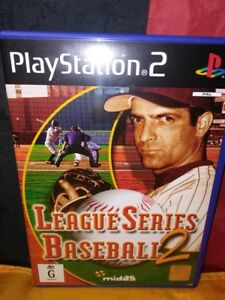 League-Series-Baseball-2-Sony-PS2-PAL-Includes-Manual