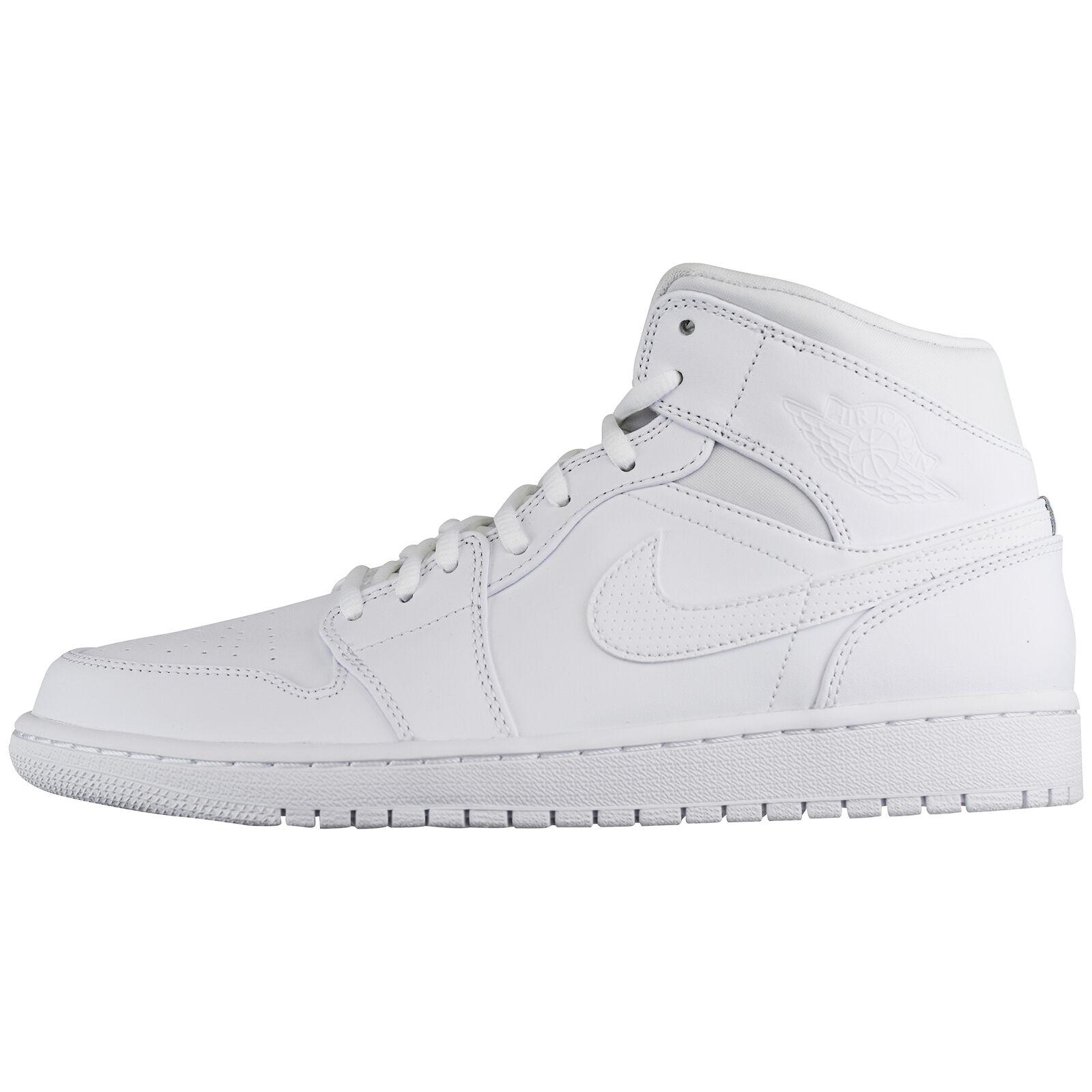 Nike Air Jordan 1 Freizeit MID 554724-110 Basketball Laufschuhe Run Freizeit 1 Sneaker 9307b5