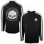 miniature 1 - Harley-Davidson Men's Black Grey Skull V-Neck L/S Sweater