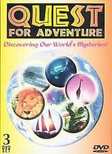 DVD Quest for Adventure: Discovering Our World's Mysteries  - Free Shipping