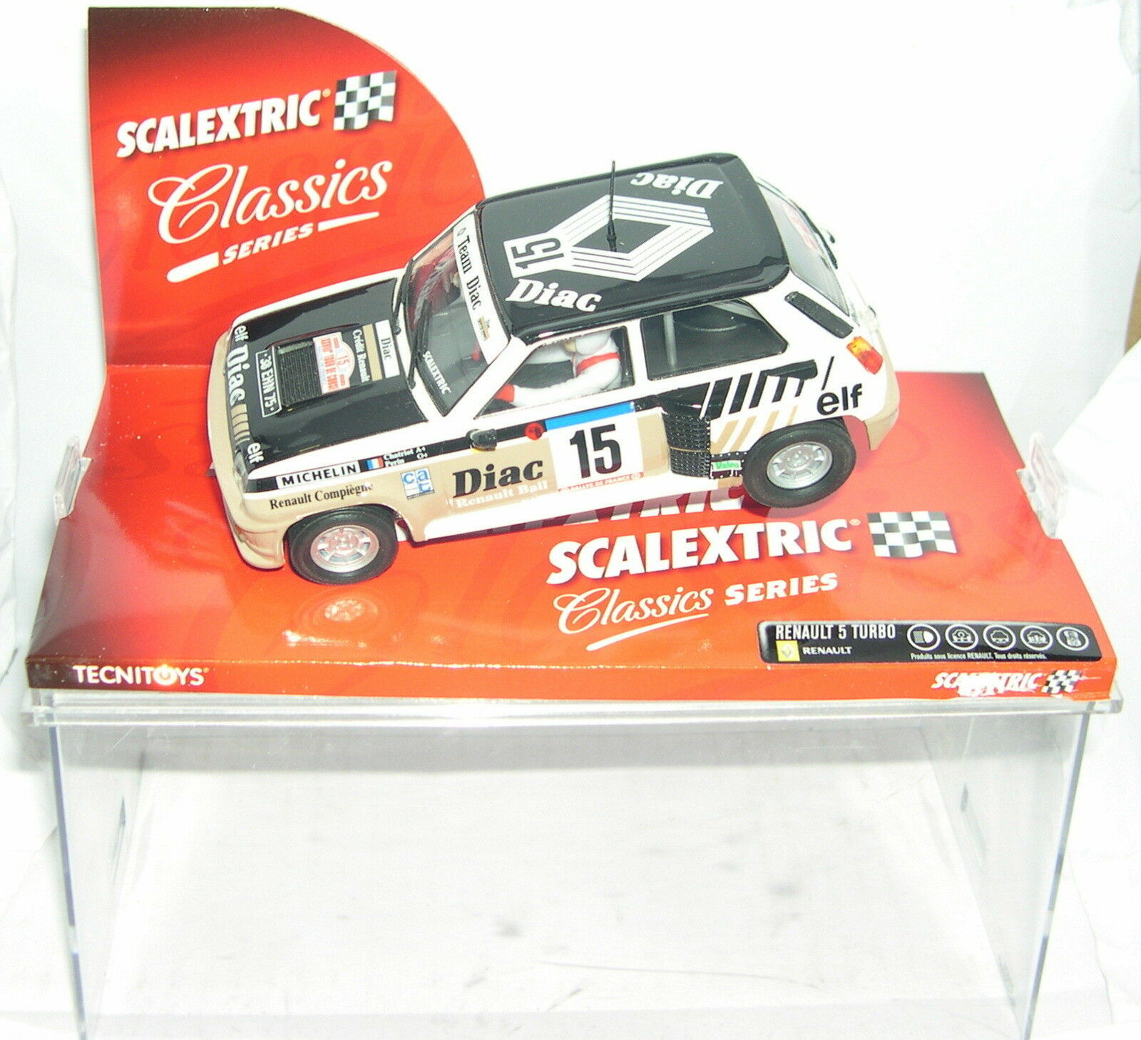 SCALEXTRIC 6204 RENAULT 5 TURBO  15 DIAC CHATRIOT-PERIN MB