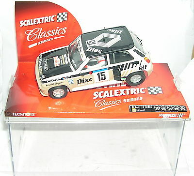Scalextric 6204 Renault 5 Turbo #15 Diac Chatriot Perin Mb Kinderrennbahnen