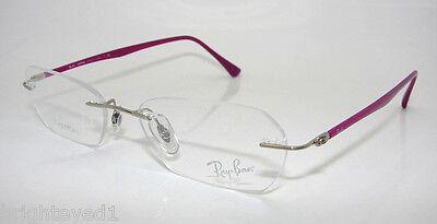 Authentic RAY-BAN LightRay Titanium Eyeglass Frame RX 8703 - 1146  *NEW*  50mm