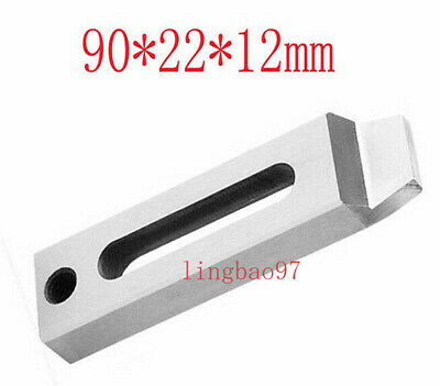 2pcs Wire EDM Stainless Steel Jig Holder Clamp 70-90mm M8 Screw CNC Lathe Claw