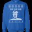 Donald Trump Ugly Sweater Ho Ho Ho Hillary Ugly Christmas Sweater