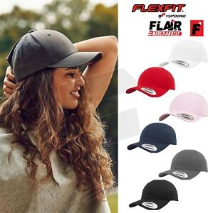 Image is loading Flexfit-By-Yupoong-Curved-classic-snapback-7706-Unisex- 8f7a2c56909
