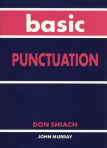 1 of 1 - Basic Punctuation,Don Shiach