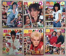 BRAVO Sammlung - 28 Hefte - 1984 1985 - Nena - Prince - 80er Jahre Deko !!!