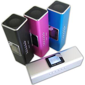 Music-Angel-Mini-Stereo-Lautsprecher-Akku-Speaker-fuer-Handy-Smartphone-Tablet