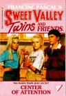 Sweet Valley Twins: Center of Attention No. 18 by Francine Pascal and Jamie Suzanne (1988, Paperback)