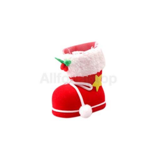 Nikolausstiefel zum Befüllen Weihnachtsstiefel Dekoration Kind Geschenke
