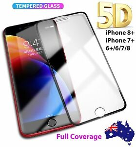 5D-FULL-Cover-TEMPERED-GLASS-Screen-Protector-for-Apple-iPhone-7-5-6-6s-Plus-4