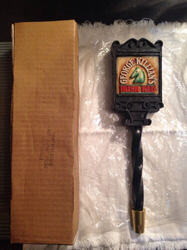 Rare 1997 Killian's Irish Red Wrought Iron Tap Handle New In Box