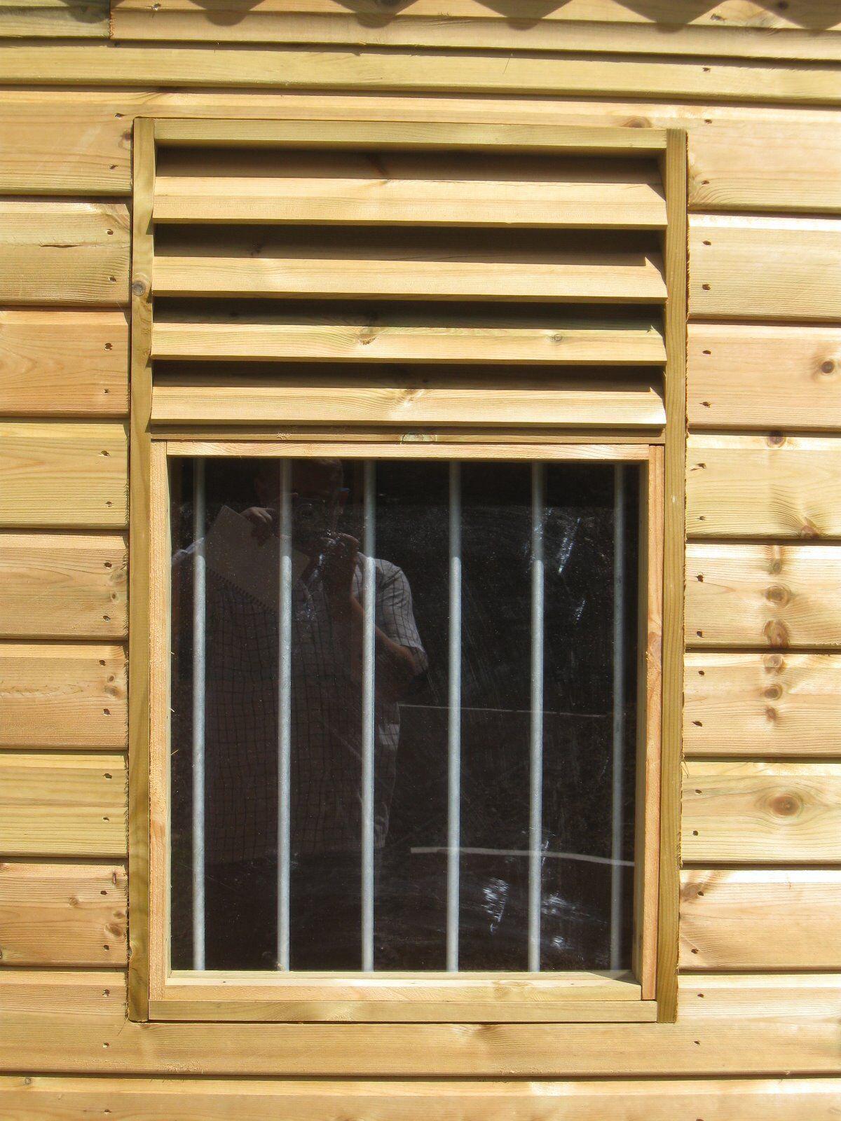 Stable Window, Farm Building Window, Shed window 600mm x 900mm, BF020