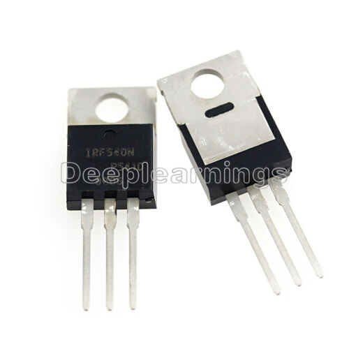 10PCS IRF540N IRF540 TO-220 N-Channel 33A 100V Power MOSFET NEW