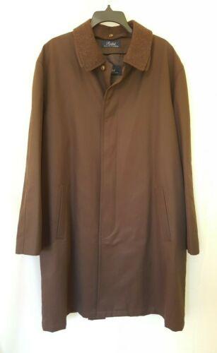 Ralph Ralph Lauren Men Trench Coat Wool Lined 44R