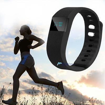 Smart Watch Pedometer Intelligent Alert Activity Sleep Wristband Tracker Blak TL