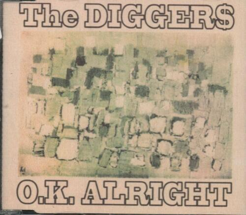 1 of 1 - The Diggers(CD Single)Ok Alright-VG
