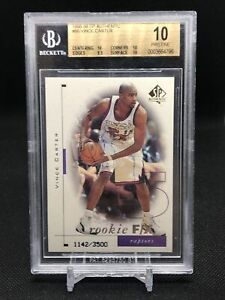 1998-99-SP-Authentic-Vince-Carter-Rookie-BGS-10-PRISTINE-Pop-1-eBay-Hall-Of-Fame