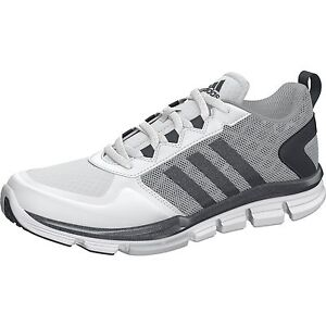 low priced 6718a 9904f B54355] MEN'S ADIDAS SPEED TRAINER 2 WIDE TRAINING SNEAKER WHITE ...