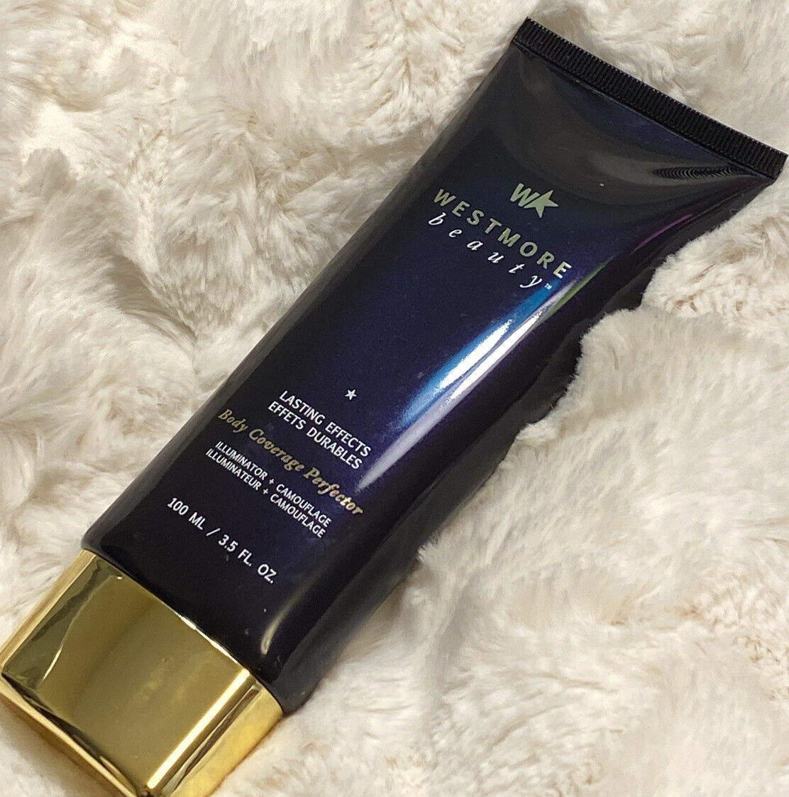 NEW SEALED Westmore Beauty Body Coverage Perfector Golden Radiance 3.5oz