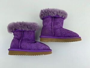girls purple boots