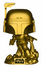 Funko Pop! Movies: Star Wars - Jango Fett (Gold) (Metallic) Vinyl Figure (Walmart Exclusive)
