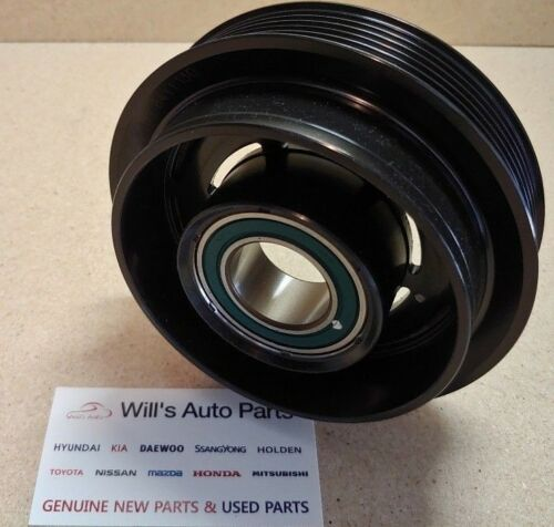 KIA RONDO 2007-2008 GENUINE NEW AC COMPRESSOR PULLEY