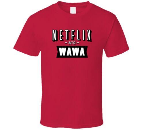 Netflix et Wawa Fast Food Ventilateur T Shirt