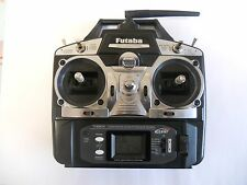 FUTABA T6EX 2.4GHZ FASST 6 CHANNEL TRANSMITTER GOOD CONDITION + BATTERY