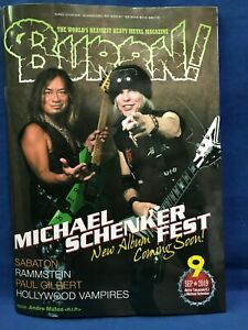 BURRN-September-2019-Hard-Rock-Heavy-Metal-Magazine-Japan-Michael-Schenker